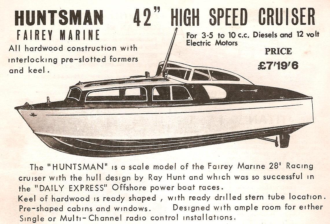 Share Huntsman model boat plans | Boat Plan