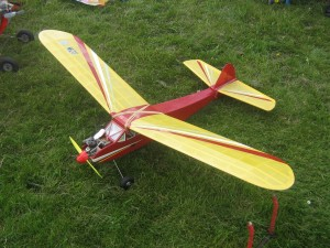 Sunduster R/C Version with Frog 500 power