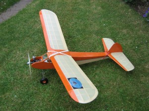Sunduster free-flight version with Mills 2.4 power